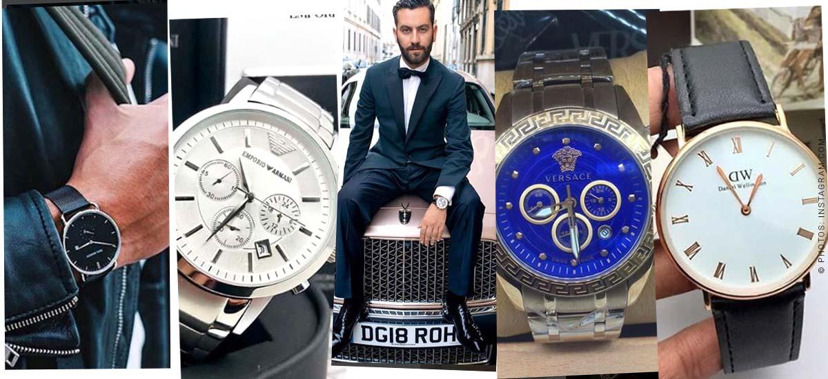 Orologi da uomo - La tendenza della moda per gli uomini