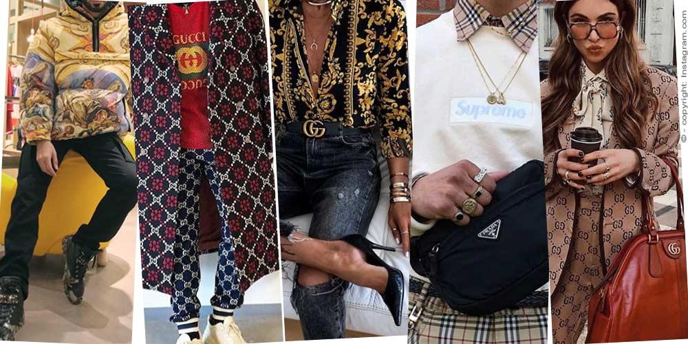 Questo è il modo in cui la donna 2019 è consapevole della moda - indossando Gucci, Chanel, Burberry nella vita di tutti i giorni