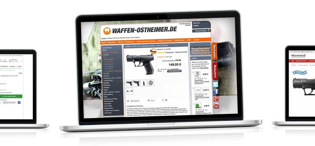 Una pistola a CO2 a buon mercato?! Comprare armi online: Confronto Walther CP99