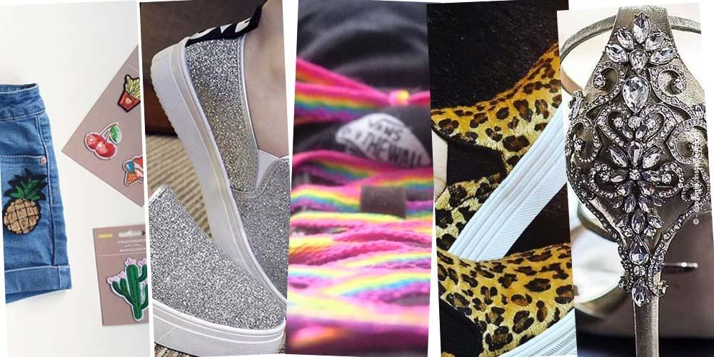 Crea le tue scarpe - Semplice fai da te