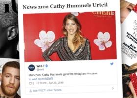 Cathy Hummels vince il processo a Monaco di Baviera: Pubblicità su Instagram – Giudizio