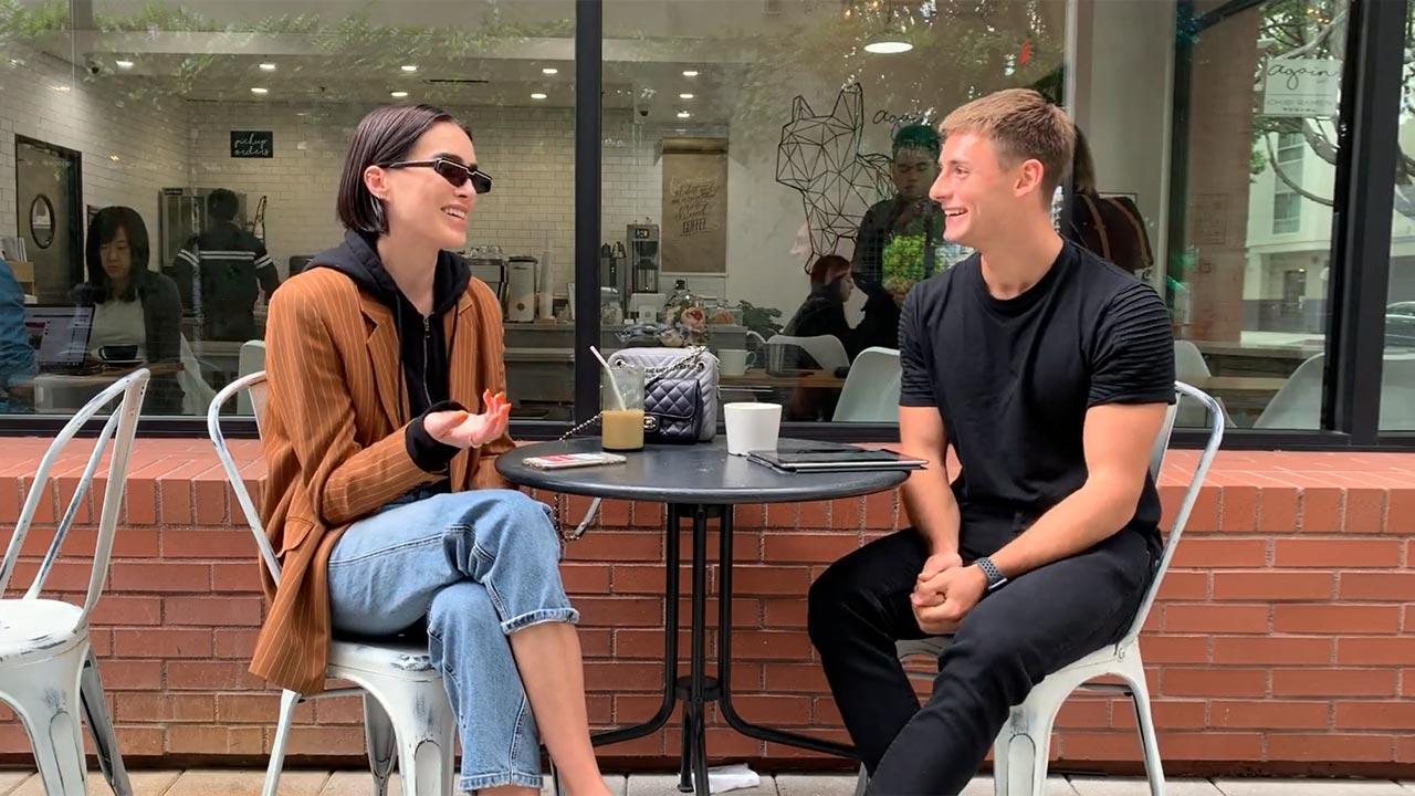 Intervista esclusiva con Brittany Xavier da Los Angeles su moda, stile di vita e bellezza