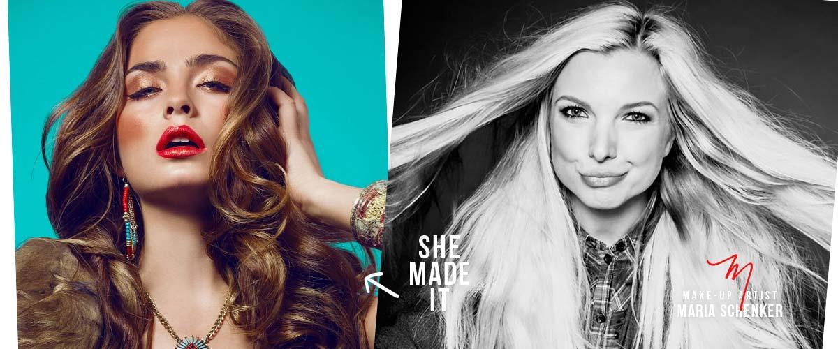 Consigli di bellezza e trucchi sul tema delle modelle sono presentati con Hair Stylist & MUA Maria!