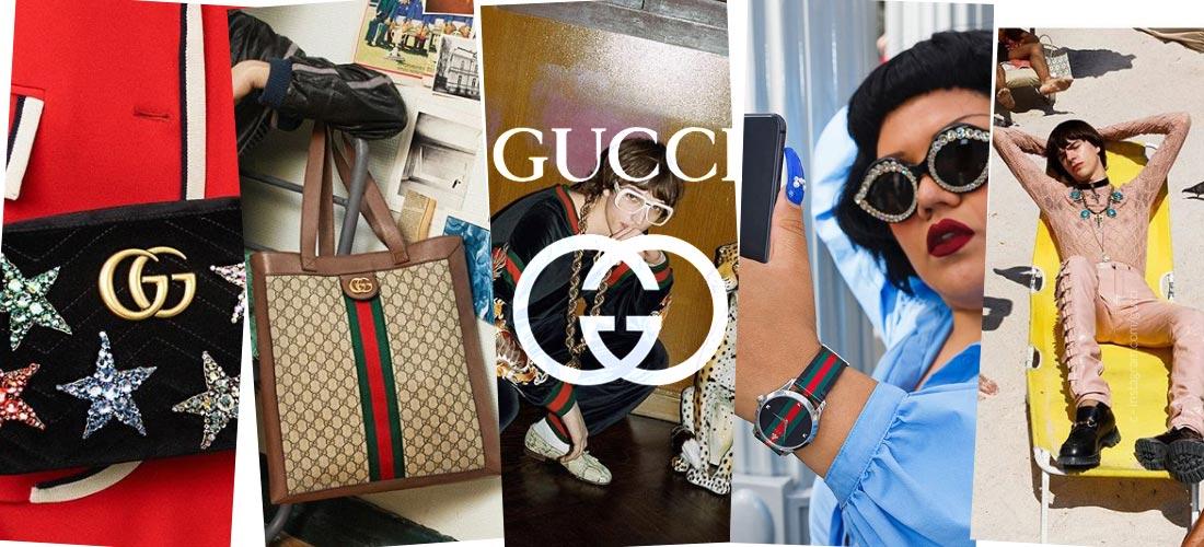 Gucci: Scarpe, cinture & borse - Accessori di lusso per uomo e donna