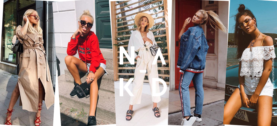 NAKD Fashion - elegante, moderno e popolare