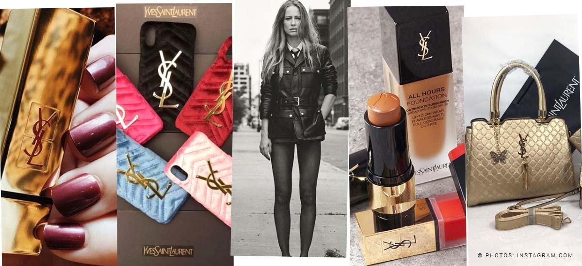 Yves Saint Laurent: borsa, rossetto & profumo - Tendenze anche per gli uomini