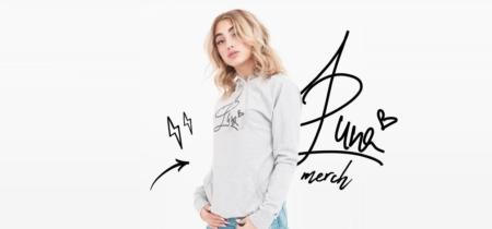 Luna Farina - La cantante presenta il suo merchandising!