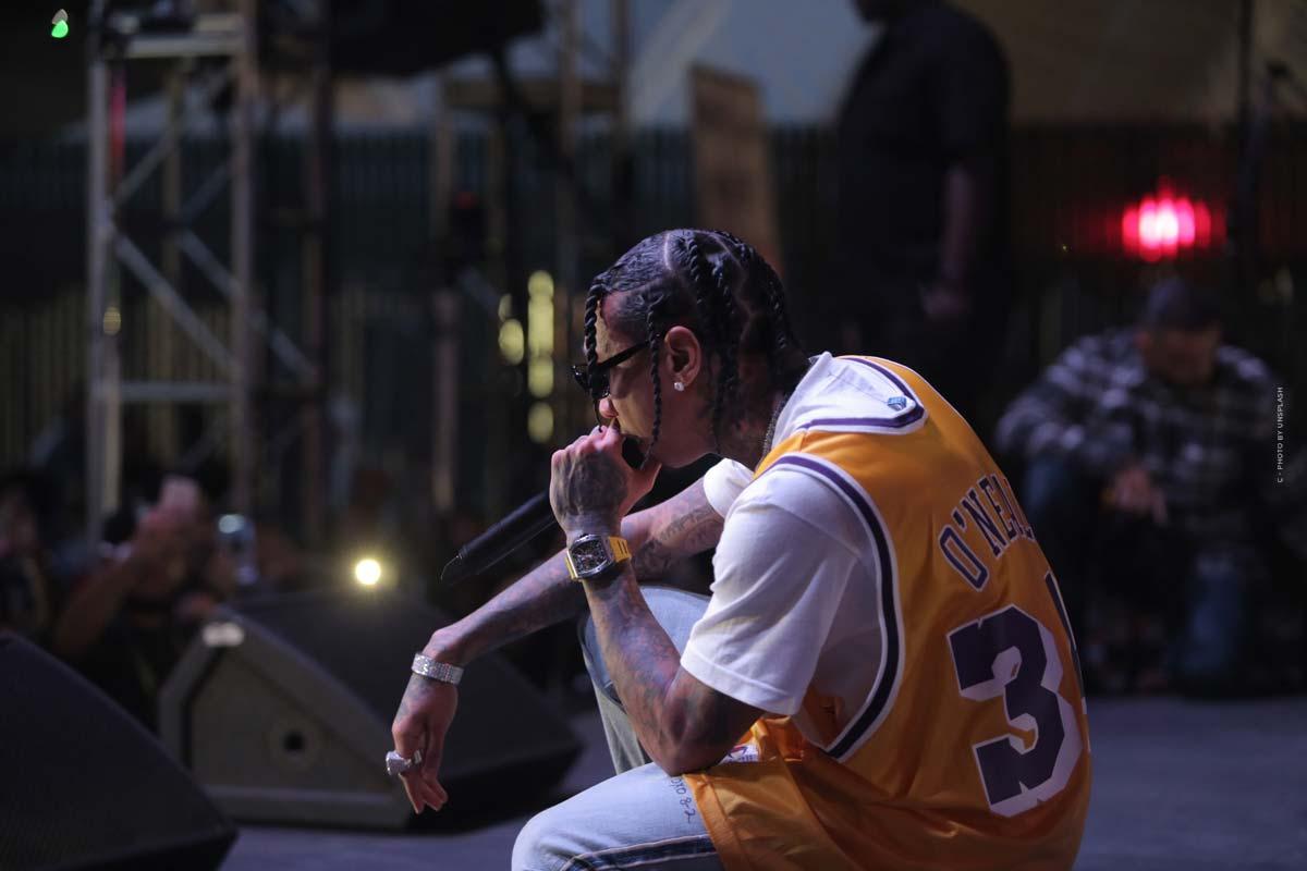 Tyga - rapper americano con successo internazionale