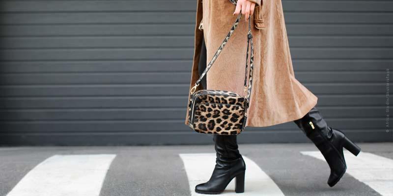 Modelli animali: tendenze della moda - giacca, scarpe, cappotti & co.