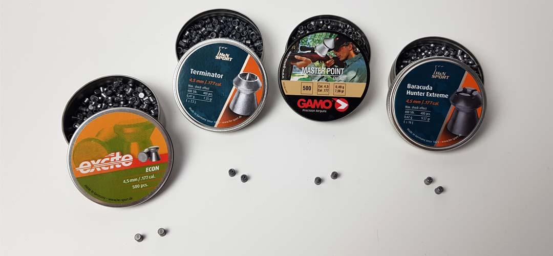 Diabolo vs BB sfera in acciaio per pistole a CO2: esperienza con testa a punta, punta cava, terminazione e baracuda