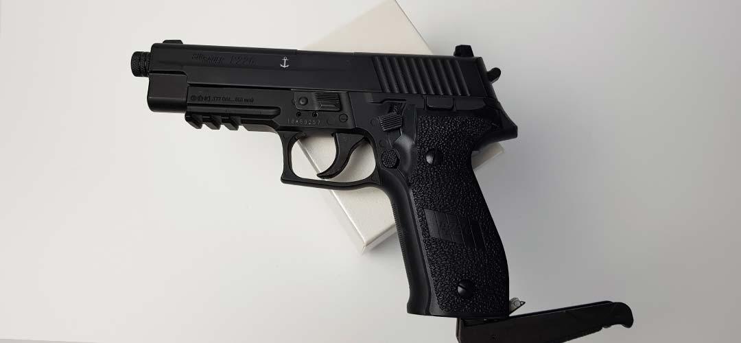 Sig Sauer P226 Blowback CO2 pistola acquistare - Recensione e test di tiro