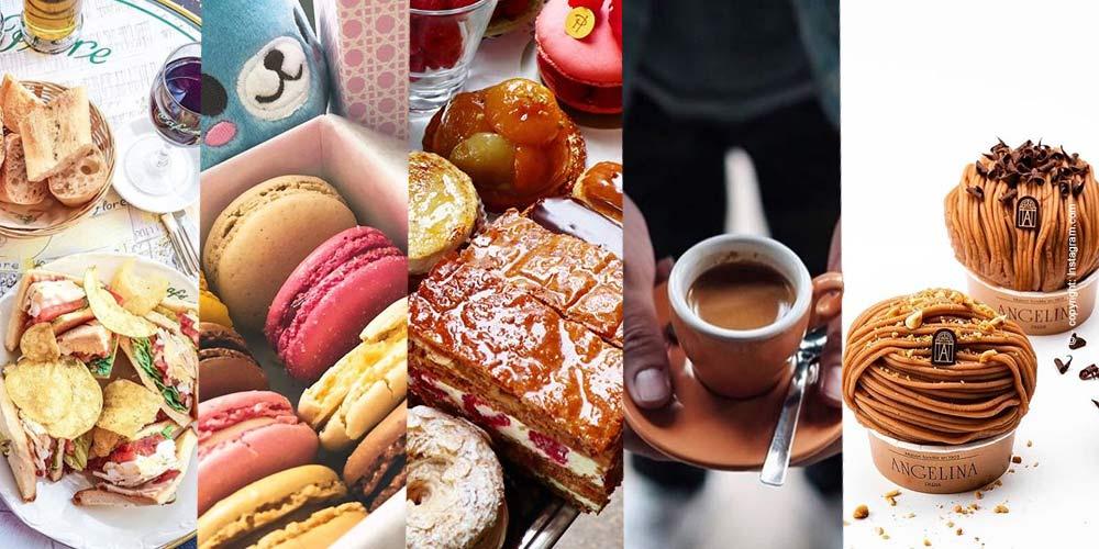 I migliori caffè, sale da tè, ristoranti a Parigi