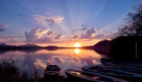 Vacanze al lago di Hopfen: Aria fresca sul lago di montagna – Hotel, Camping & Co. in Baviera