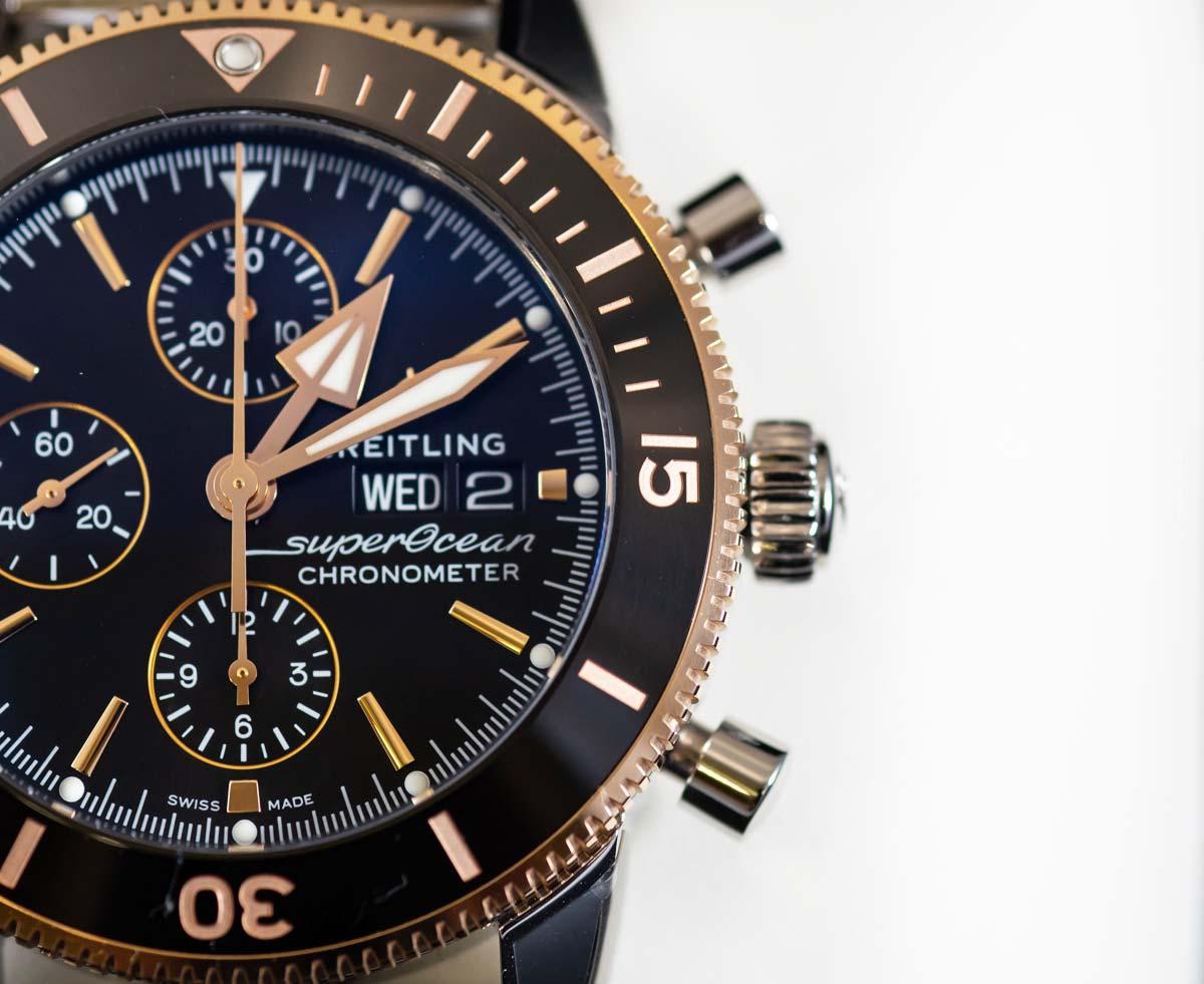 Breitling Superocean: orologio subacqueo per uomini e donne - design, cronografo, prezzi