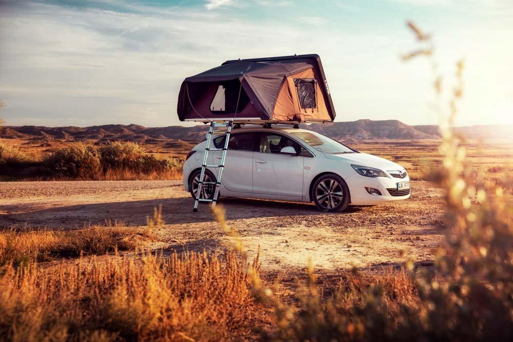 """Tende da tetto Campwerk: campeggio """"Made in Germany"""", accessori campeggio, negozio & showroom"""