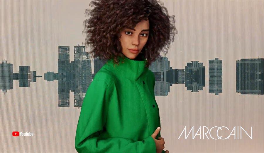 """Una futura sfilata di moda? MarcCain """"Che meraviglia"""" @ Settimana della moda di Berlino: Wow! Realtà virtuale"""