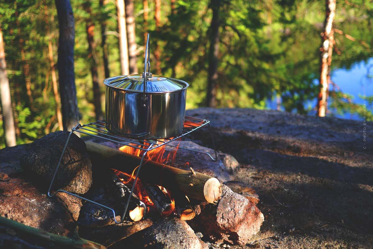 Suggerimenti per cucinare in campeggio: Ricette, Grigliate con carne e vegetariane
