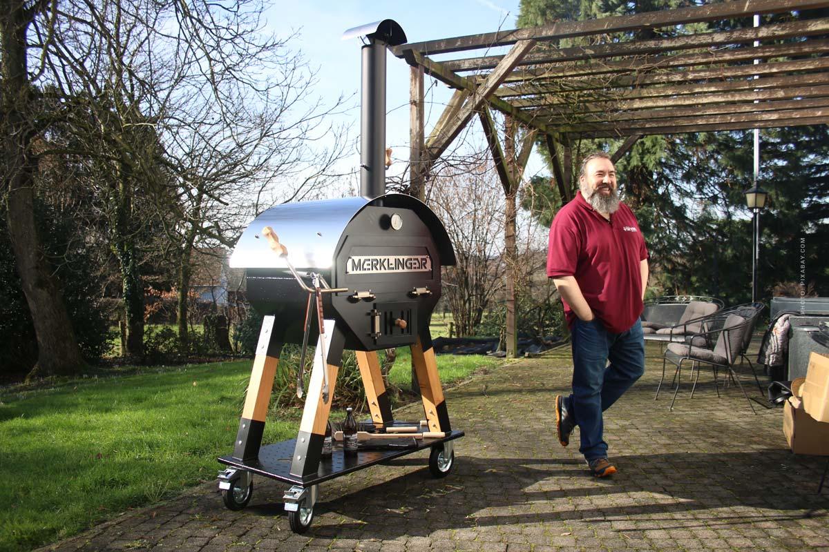Merklinger Grill & Wooden Oven: carne, pizza, pane e Made in Germany - Un consiglio dal campione del mondo di grill!