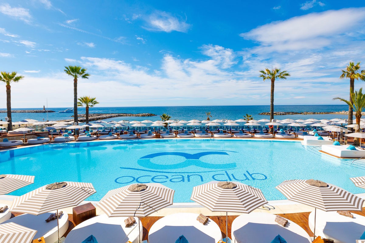 Ocean Club Marbella: City Beach Club, drink, DJ e piscina XXL!